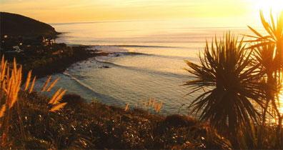 »Sonnenuntergang auf der Nordinsel - Neuseeland Erlebnisreise«