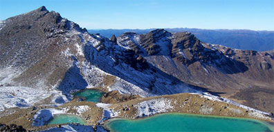 » Active New Zealand: Tongariro-Alpine-Crossing «