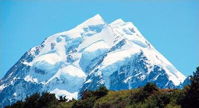 »Flug im Helikopter über die Gletscher Südalpen Neuseeland«