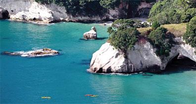 »Cathedral Cove, Coromandel Halbinsel - Neuseeland Rundreise«
