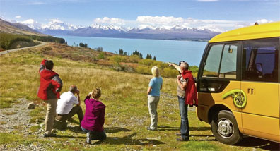 »Kleingruppen Safari - Busreisen Neuseeland in kleiner Gruppe«