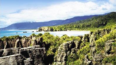 »Pancake Rocks - New Zealand Splendour Mietwagenrundreise«