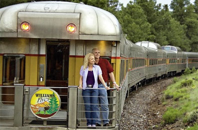 » Grand Canyon Railway - Reise Westküste USA «