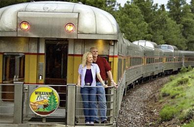 »Grand Canyon Railway - Reise Westküste USA«