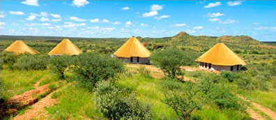 »Die Onjala Lodge - Okavango Botswana / Namibia«