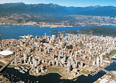 »Blick auf Vancouver - Zwischen Pazifik und Rocky Mountains«