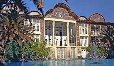 »Gartenpalast im Eramgarten in Shiraz - Höhepunkte Persiens«
