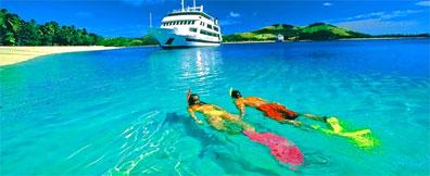 »Fidschi - Blue-Lagoon-Kreuzfahrt: Traumstrände & Trauminseln«