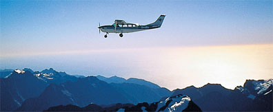 »Flug über die Neuseeländische Alpen - Queen Charlotte Reise«