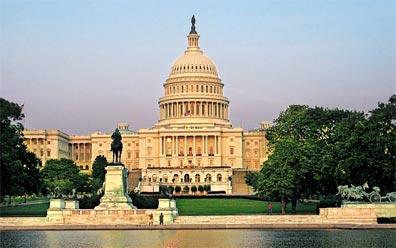 »Quer durch die USA: Washing ton D.C., Capitol«