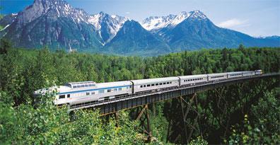 »Bahnreise Kanada VIA Rail - Glanzlichter Westkanadas«