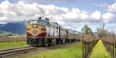 » Kalifornien erleben: Napa Valley Wine Train «