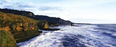 »Nationalpark an der Westküste Südinsel Neuseeland«