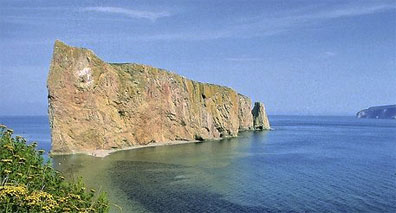 »Percé Rock, Gaspésie Halbinsel - Mietwagentour Ostküste«