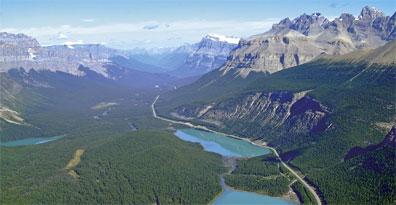 »Icefields Parkway Kanada -  Land der Berge und Seen«