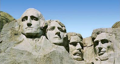 »Rocky Mountain Frontiers: Mount Rushmore Memorial«
