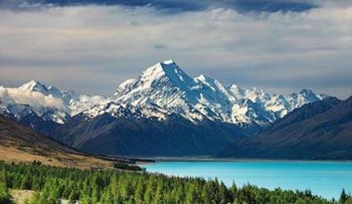 »Neuseeland - Australien Reise: Blick auf den Mount Cook«