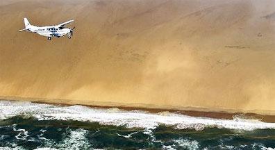 »Fly In-Safari Namibia - spektakuläre Flugsafari Namibia«
