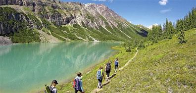 »Banff Nationalpark, Cline River - Wilderness Experience«