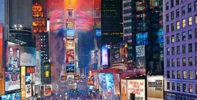 »Silvester in New York - Reise inklusive Flug und Hotel«
