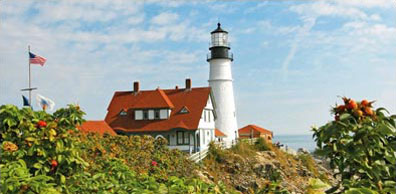 »Portland, Maine, Cape Elizabeth - Klassisches Neuengland«