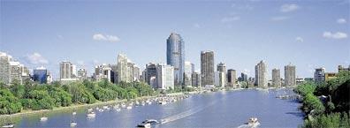 »Australienreise Metropolen und Strand: Brisbane«