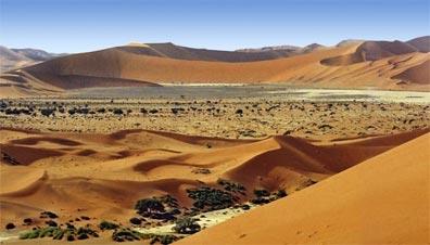»Sossusvlei Namibia - die gigantischen Dünen des Sossusvlei«