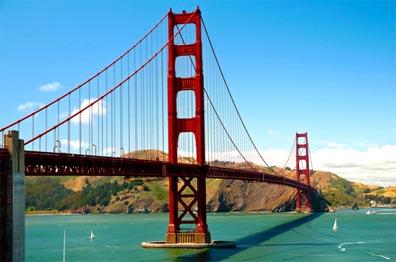 »Reise USA Westküste: Golden Gate Bridge«