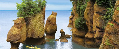 » Klassisches Atlantik-Kanada: Bay of Fundy «