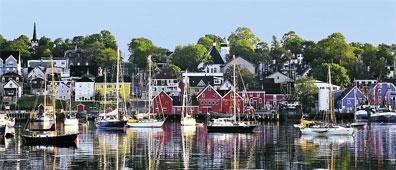 »Klassisches Atlantik-Kanada: Lunenburg, Nova Scotia«