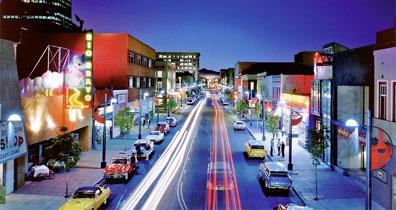 »Mietwagentouren USA: Neon Route 66, Albuquerque«