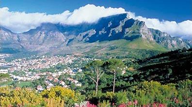 »Grandiose Landschaften Südafrika: Der Tafelberg, Kapstadt«