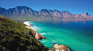 »Küstenszenerie bei Kapstadt - Rundreise Südafrika«