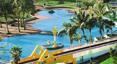 »Tropicana Hotel Durban - genießen Sie Erholung und Badespaß«