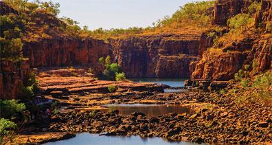 »Naturwunder Australiens: Katherine Gorge, Nitmiluk Nationalp«