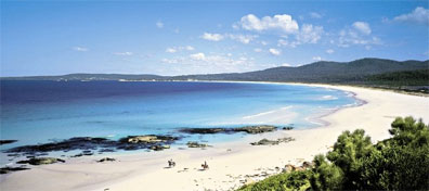 » Bay of Fires bei St. Helens - Tasmania Grand Circle Reise «