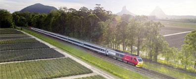 »Züge in Queensland: The Spirit of Queensland«
