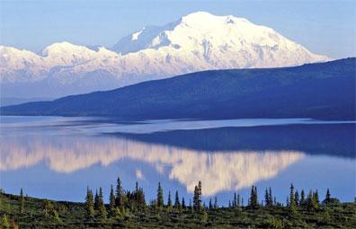 »Wonder Lake & Mt. McKinley, Denali Nationalpark«