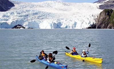 »Alaska für Genießer: Kenai Fjords Gletscher«
