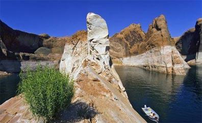 »Campingrundreise USA: Utah, Lake Powel«