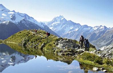 »Mount Cook Region - Neuseeland Wander-Studienreise«