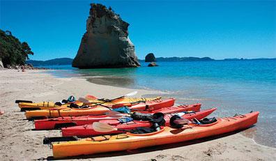 »Neuseelandreise - Seekayaktour im Abel-Tasman-Park«