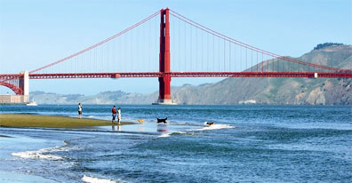 » Golden Gate Bridge - Goldene Brücken & Grandiose Canyons «
