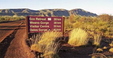 »Australien Westküste auf eigene Faust: Karijini Nationalpark«