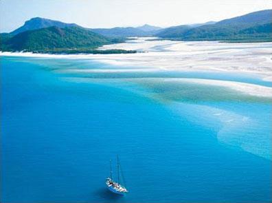 »Whitsunday Segelkreuzfahrten - Australien Kreuzfahrt«