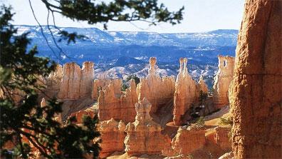 »Bryce Canyon Nationalpark - Goldene Brücken Grandiose Canyon«