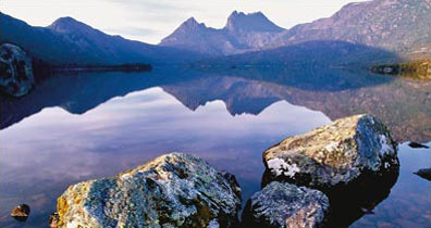 » Lake Dove, Cradle Mountain - Naturparadies Tasmanien «