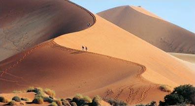 »Sossusvlei Dünen - Traumreise Namibia«