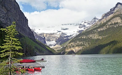 »Naturereignis Rocky Mountains: Reise zum Lake Louise«