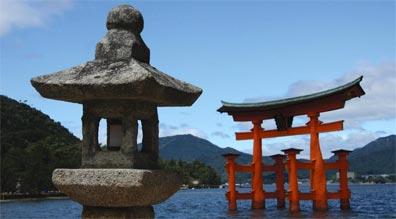 »Exklusive Japanreise: Miyajima Tor am Itsukushima Schrein«